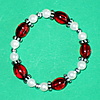 Picture of Red Bead Bracelet
