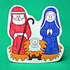 Picture of Colour Your Own Nativity Scene