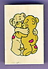 Picture of Hugging Teddy Bears Stamp