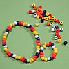 Picture of Rainbow Bead Bracelet and Ring Kit