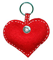 Picture of Heart Keyring