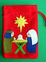 Picture of Felt Nativity Bags