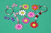 Picture of Flower Key Chain