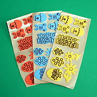 Picture of Happy Easter Foam Stickers