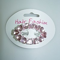 Picture of Crystal Heart Hair clips