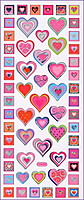 Picture of Heart Stickers