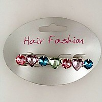 Picture of Hair Clip with Pastel Stones