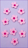 Picture of Felt Flowers - Pink