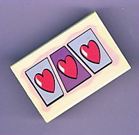 Picture of Three Hearts Stamp