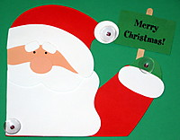 Picture of Waving Santa Craft Kit